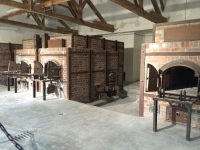 Ovens used to burn bodies